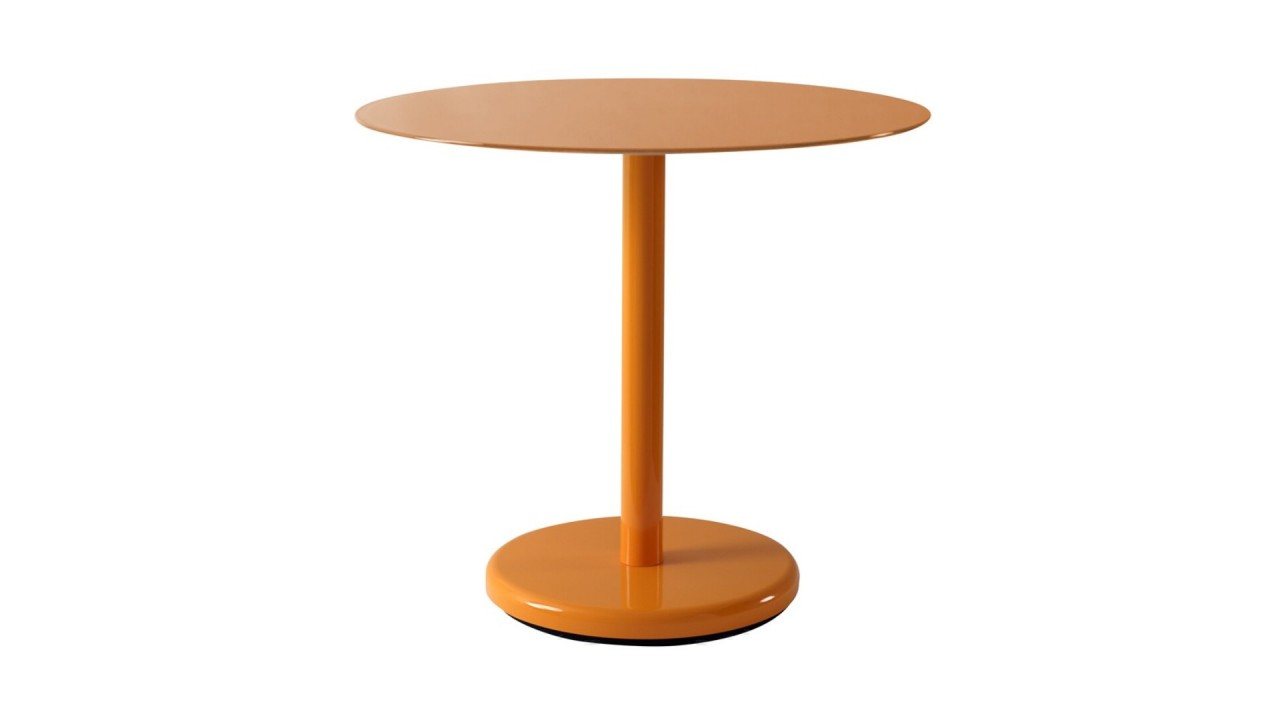 Achetez table d 39 appoint design orange 50 cm pin pas cher - Table d appoint design ...
