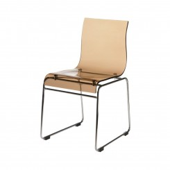 CHAISE RETRO PLEXIGLAS TRANSPARENT ARIES CAMINO A CASA