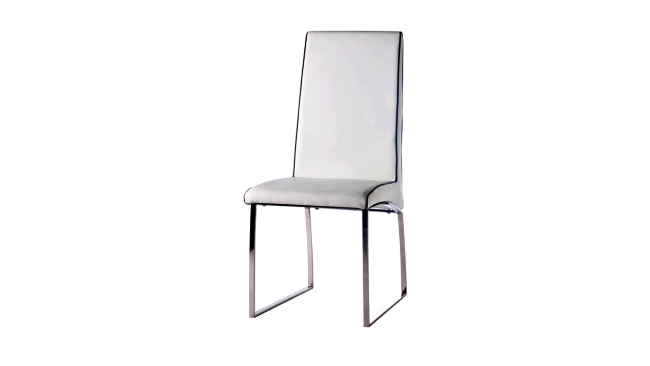 Chaises blanches simili cuir 28 images davaus net for Chaise bercante pour allaiter