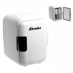 MINI FRIGO DESIGN DRINKS BLANC
