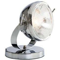 LAMPE PHARE DE MOTO CHROME KARE DESIGN