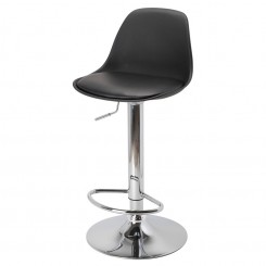 TABOURET DE BAR NOIR EGG