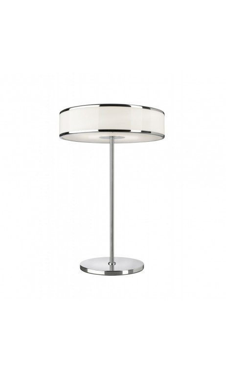 achetez votre lampe poser moderne chrome led lounge pas cher sur loft. Black Bedroom Furniture Sets. Home Design Ideas