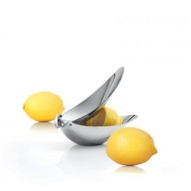 Presse citron design Inox brillant Blomus