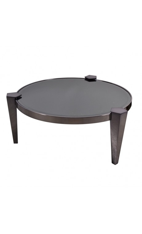 Table basse verre design pas cher maison design for Table basse noir pas cher