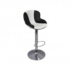 TABOURET DE BAR BLANC ET NOIR ATMOSPHERE