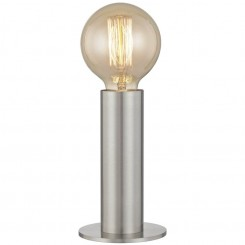 LAMPE A POSER INDUSTRIELLE TUBE ARGENT