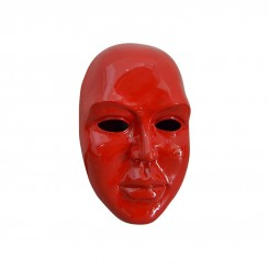 VISAGE 3D ROUGE BRILLANT 59CM ILLUSION DREAM LOFT