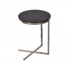 TABLE D'APPOINT DESIGN VERRE TEINT LOFT