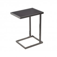 TABLE D'APPOINT DESIGN NOIR 48 CM LIVING