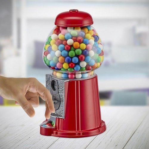 Distributeur de chewing gum rouge 28 cm