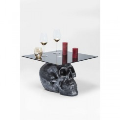 TABLE BASSE TETE DE MORT ROCKSTAR BY GEISS KARE DESIGN