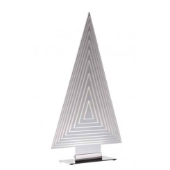 LAMPE A POSER SAPIN ACRYLIQUE 50 CM GEO SOMPEX