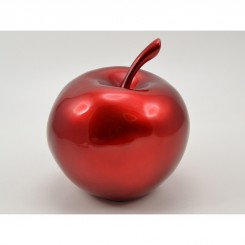 STATUE DESIGN POMME ROUGE 26 CM ILLUSION