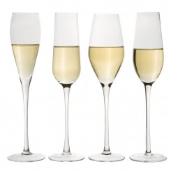 ASSORTIMENT DE 4 FLUTES A CHAMPAGNE DESIGN