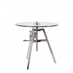 TABLE D'APPOINT DESIGN PLATEAU AJUSTABLE TRICK LIGHT AND LIVING