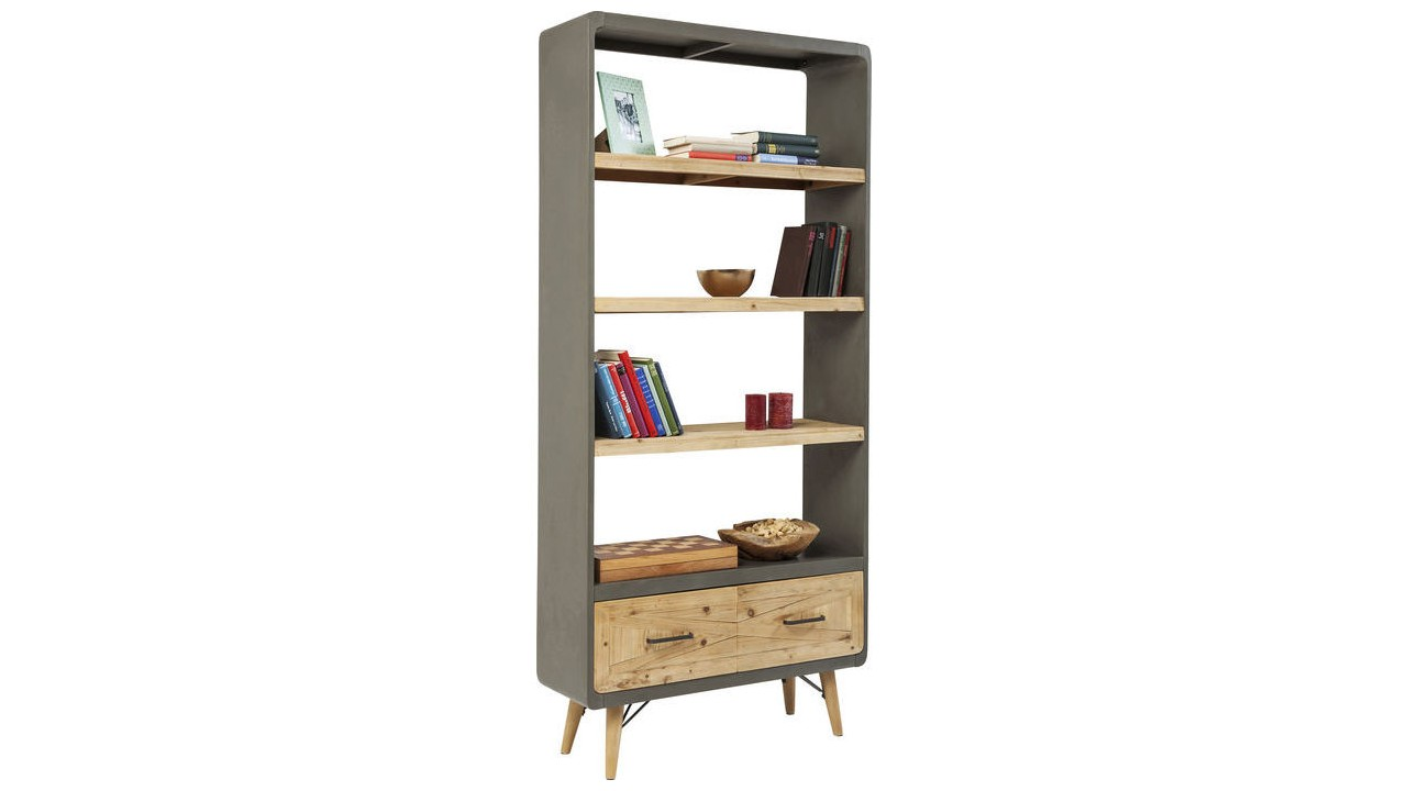 etagere style industriel pas cher latest petite tagre tablette murale en acier et bois de. Black Bedroom Furniture Sets. Home Design Ideas