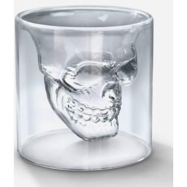 VERRE A ALCOOL TETE DE MORT