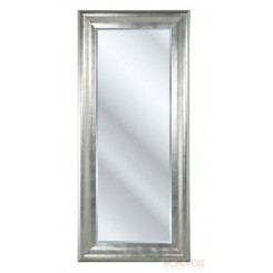 MIROIR CHIC DESIGN MOULURE GRISE ARGENT KARE DESIGN