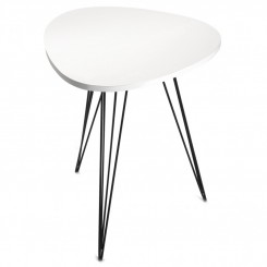 TABLE D'APPOINT DESIGN BOIS BLANC SEATTLE VERSA