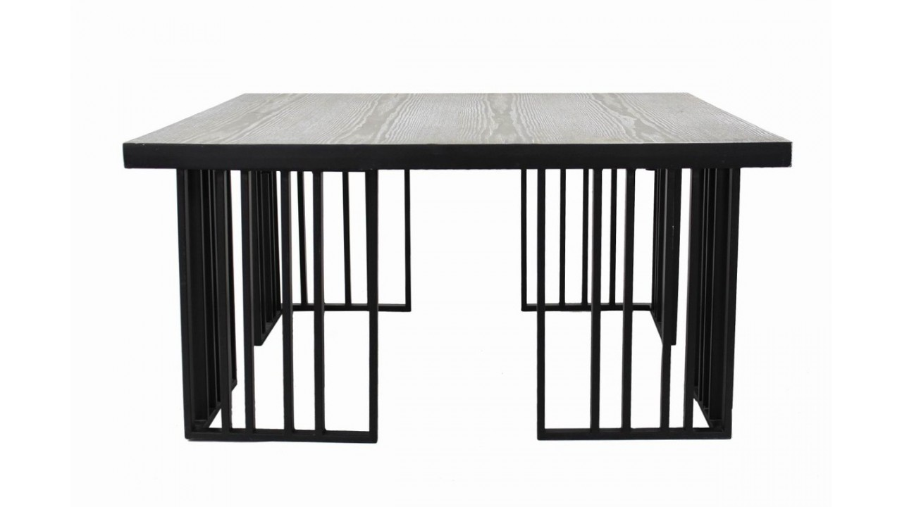 achetez votre table basse industriel bois et acier barro. Black Bedroom Furniture Sets. Home Design Ideas