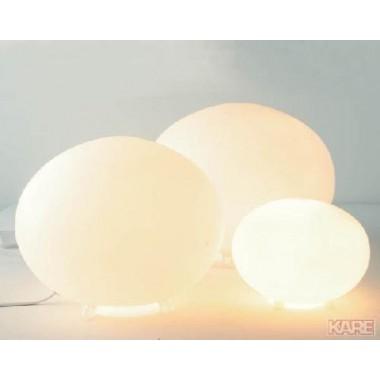 Lampe globe verre dépoli Médium PASQUA