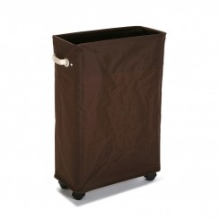 Panier rectangulaire linge sale MARRON RUEDAS