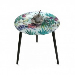 TABLE D'APPOINT MOTIF TROPICAL TROPI VERSA