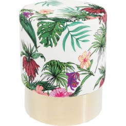 TABOURET TISSU TROPICAL CHERRY KARE DESIGN