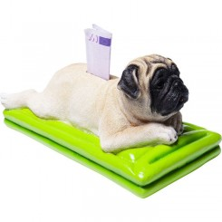 TIRELIRE CHIEN CARLIN RELAX MOPS KARE DESIGN