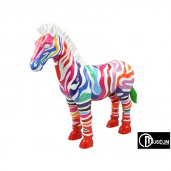 ZEBRE RAYURES MULTICOLORES PLAYFUL