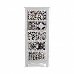 COMMODE HAUTE TIROIRS CARRELAGE DECORATIF PIREO VERSA