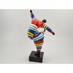 STATUE FEMME MULTICOLORE MISS FUNNY EMOTION