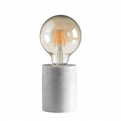 LAMPE A POSER EFFET BETON GRIS CHARGE CAMINO A CASA