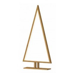 LAMPE A POSER SAPIN BAMBOU A LED PINE SOMPEX
