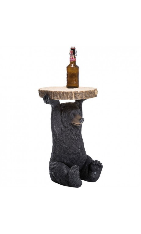 Table d'appoint ours brun 58 cm BEAR