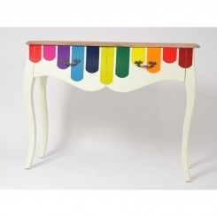 Console bandes multicolores WONDERFUL