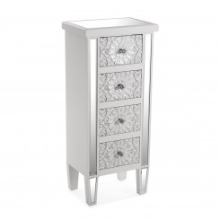 Commode haute 4 tiroirs ornements LAHORE