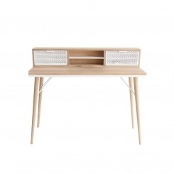 Bureau style scandinave bois clair HOLLY