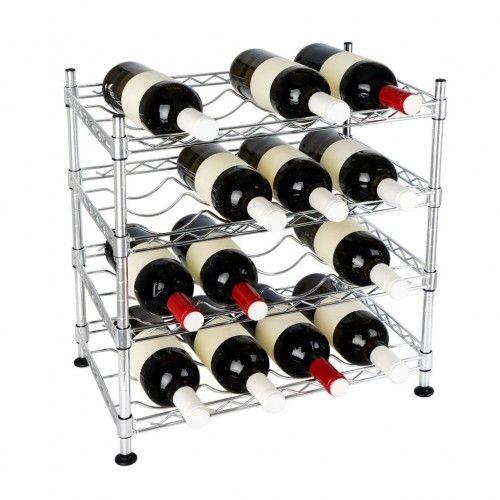 Étagère pour bouteilles 4 niveaux SOMMELIER