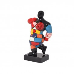 Statue femme multicolores miss crazy EMOTION