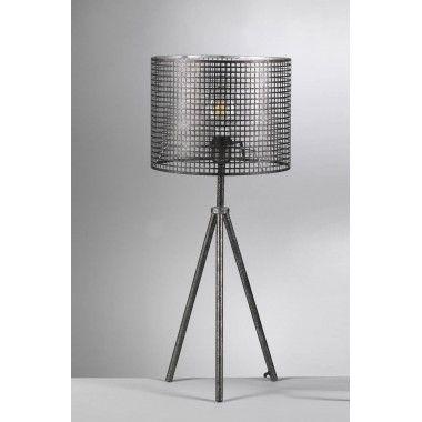Lampe atelier abat jour métal INTERIOR
