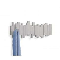 Porte manteau mural sticks HOOK gris