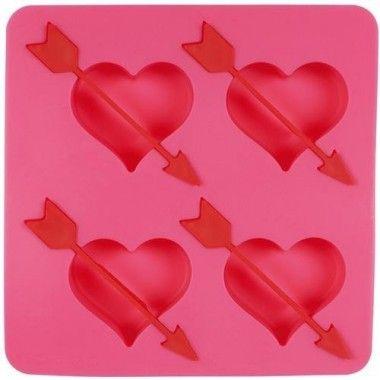 Moule à glaçons coeur