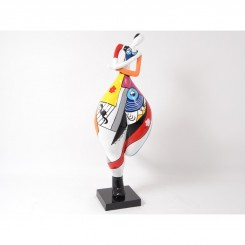 Statue miss lively EMOTION 140 cm
