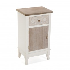 Table de chevet bois beige 1 porte BOEDO