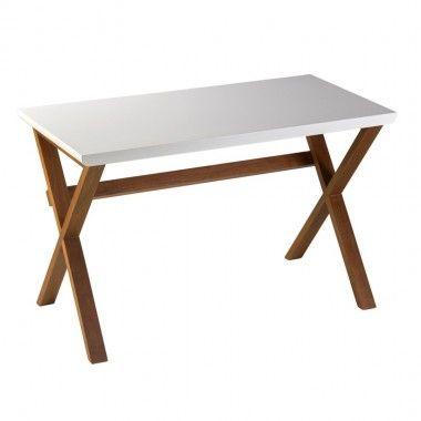 Bureau style scandinave bois clair UNMADE