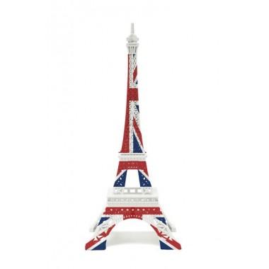 Tour Eiffel Merci Gustave Drapeau Anglais