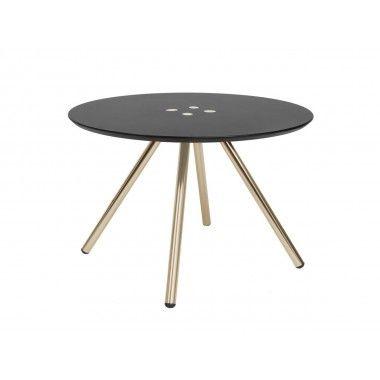 Table basse Sliced noir
