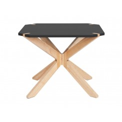 Table d'appoint noir Mister X Large